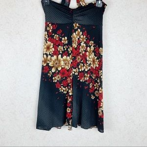 Bliss floral swimsuit coverup